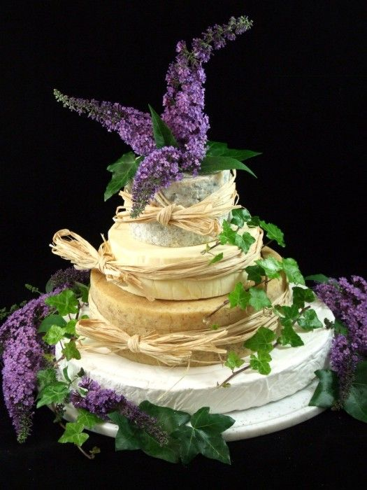 Cheese Wedding Cake or Tower to feed 85 (Mixed Cake W)