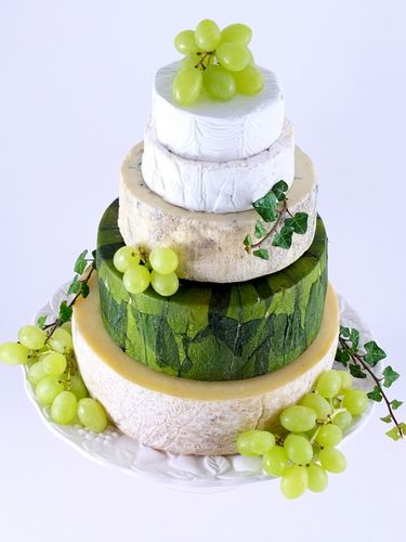 Cheese Wedding Cake Or Tower To Feed 55 80 Madeleine