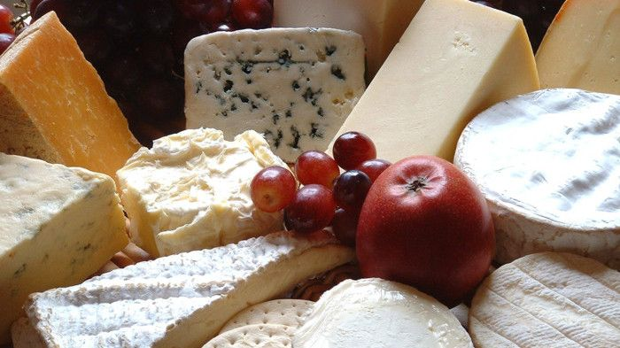 We can supply a balanced cheese board ...