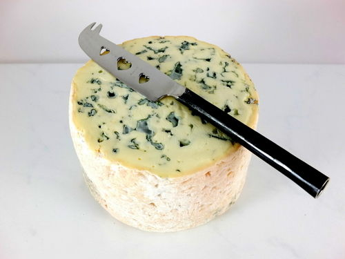 half a fourme d ambert french blue cheese